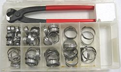 Stepless Ear Pinch Clamp Service Kits